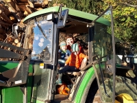 aufm Traktor