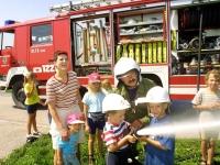 Tag bei der Feuerwehr