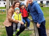 Familie Rauscher Jun. Jakob, Elias, Johanna und Stefan