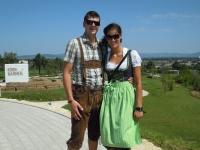 Stefan mit seiner Frau Johanna