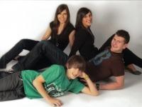 Christina, Franziska, Alexander und Stefan